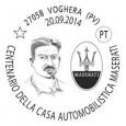 printDigg DiggVOGHERA – Il Circolo Filatelico Numismatico Vogherese celebra i cento anni della casa automobilistica Maserati, i cui fondatori hanno avuto i natali a Voghera, con una mostra di materiale...