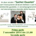 """VOGHERA – Proseguono anche nel 2014 le attività dell'Auser Voghera. Una bella iniziativa si terrà il 7 e 14 novembre (alle ore 21) con la """"Guida all'ascolto musicale"""". I Sacher..."""