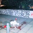 """PAVIA – I militanti di Forza Nuova Pavia ieri sera hanno appena affisso uno striscione davanti a Palazzo Mezzabarba per denunciare """"il silenzio assordante delle istituzioni"""", sulla strage delle Foibe..."""