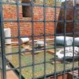 """PAVIA – """"Abbiamo completato i lavori di restauro dei resti della Torre Civica. È stato sostituito il vetro con l'acqua e in essa sono stati collocati alcuni resti della Torre...."""