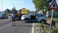 VOGHERA -Tragedia sfiorataquesta mattina all'uscita della A21 a Casatisma. Alle 7.15 circa un Suv che usciva dall'Autostrada si è immesso sulla Sp35 dove è stato travolto da una cisterna che...