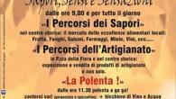 VARZI - Domenica 6 Novembre a Varzi si terrà la Fiera d'Autunno. Per l'occasione dalle ore 11,30 saranno serviti piatti di Polenta a 10€, di cui 2€ verranno devoluti per...