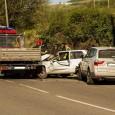 VARZI – Pauroso incidente questa mattina poco dopo le 8.30 a Varzi. Si è trattato di una carambolaa tre, con un'auto rimasta paurosamente schiacciata fra un furgone cassonato e un'altra...