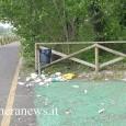 VOGHERA RIVANAZZANO – Ancora maleducazione. Ancora rifiuti abbandonati. Succede sulla bella pista ciclabile che unisce Voghera a Rivanazzano. Le foto pubblicata è stata scattata dalla vogherese Rosaria D'Oro il 25...
