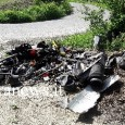 """BORGO PRIOLO – In redazione è arrivata la segnalazione da parte di un lettoredell'abbandono di rifiuti speciali in località Arpesina, nel comune di Borgo Priolo. A farla, Luca Vercesi. """"I..."""