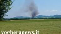 VOGHERA – Un incendio nel pomeriggio di oggi si è scatenato in aperta campagna a Voghera. Le fiamme hanno intaccato un campo di grano che si trova in strada dell'Uomo...