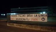 """VOGHERA - """"Studente italiano segui la linea Fedeli: abbandona gli studi!"""" Questo il testo dei centinaia di striscioni attaccati in tutta Italia, e anche a Voghera con i quali il..."""