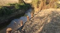 VOGHERA - E' appena terminata la prima parte di lavori di consolidamento delle sponde dei corsi idraulici del Cavo Lagozzo. Un intervento da 50mila euro è stato compiuto a valle...