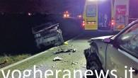 VOGHERA – Grave incidente ieri pomeriggio alle 18.20 circasulla Sp50 a Torremenapace. Due auto, una Fiat 600 e una Fiat Panda, si sono scontrate frontalmente. Due i feriti soccorsi dai...