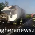 VOGHERA – Mattinata autenticamente ardente sulla tangenziale di Voghera. Questa mattina alle 7 circa un camion è andato a fuoco lungo la tratta della tangenziale fra le uscite di Campoferro...
