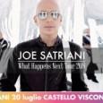 PAVIA – Il concerto diJoe Satrianidi venerdì 20 luglio nell'ambito diIRIDE Fraschini Music Festivalè stato interrotto dopo l'esecuzione dei primi brani a causa di un temporale che ha minacciato e...