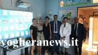 """VOGHERA – Il Leo Club di Voghera, nell'ambito del progetto Operativo Nazionale """"Leo4Children"""", ha donato, all'Unità Operativa di Pediatria e Nido dell'Ospedale Civile di Voghera, una lavagna multimediale (lavagna SMART..."""