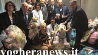 VOGHERA – Sacchi e sacchi pieni. Centinaia di peluche che ora saranno messi a disposizione dei piccoli pazienti. Ieri alle ore 16, nel reparto di Pediatria e Nido dell'ospedale di...