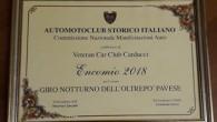 CASTEGGIO – Il Veteran Car Club Carducci, Club federato ASI (Automotoclub Storico Italiano) con sede a Casteggio, ha ricevuto un prestigioso Encomio dalla Commissione Nazionale ASI per il Giro Notturno...