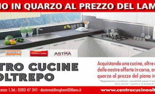 """CENTRO CUCINE OLTREPO (Voghera via Piacenza 1/A): Eccezionale Promozione """"IL PIANO IN QUARZO AL PREZZO DEL LAMINATO"""" p"""