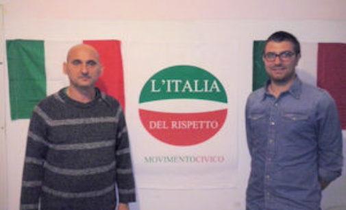 VOGHERA 22/10/2014: Andrea Tucci candidato e responsabile Giovani per L'Italia del Rispetto