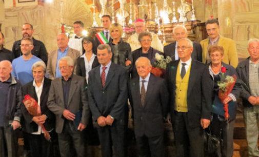 BAGNARIA 21/10/2014: Premiati gli anziani 80enni e le coppie con 50 anni di matrimonio