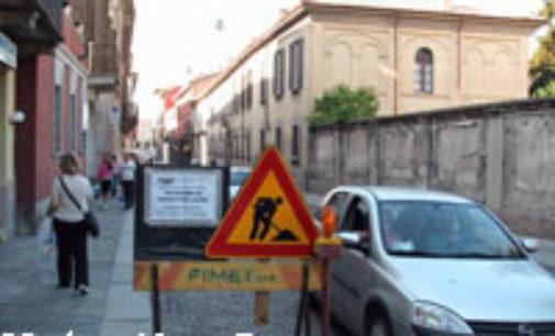 VOGHERA 20/10/2014: Giovedì via Cavour chiusa per lavori