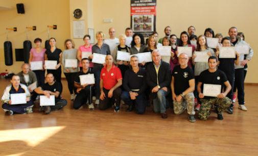 VOGHERA 27/10/2014: Conclusa sabato la 5° edizione del corso di difesa personale patrocinato dalla Polizia Locale