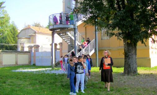 VOGHERA 28/10/2014: Scuola. Alla De Amicis la simulazione di evacuazione