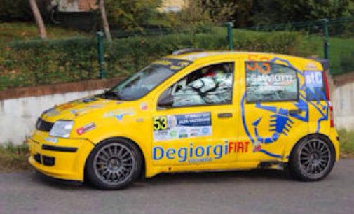 VOGHERA 30/10/2014: Rally. Salviotti solo terzo in Alta Valtidone… per colpa di un alternatore