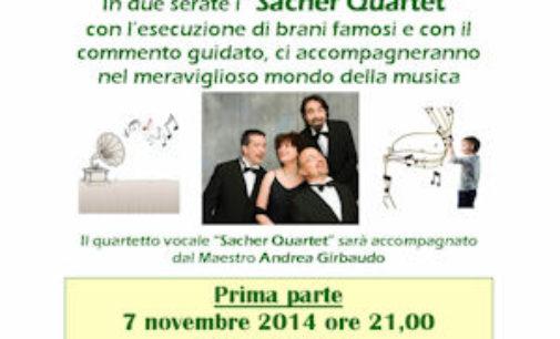 """VOGHERA 31/10/2014: All'Auser la """"Guida all'ascolto musicale"""" con i Sacher Quartet"""