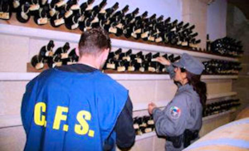 BRONI CASTEGGIO 19/11/2014: Presunta frode nella produzione del Pinot grigio. Indaga la Forestale