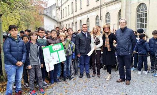 VOGHERA 21/11/2014: Oggi la Giornata nazionale dell'Albero. Cerimonie in tutte le scuole con l'assessore Battistella