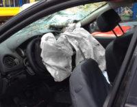VIGEVANO 25/11/2014: Auto esce di strada. 23enne sbalzata dall'abitacolo muore sul colpo