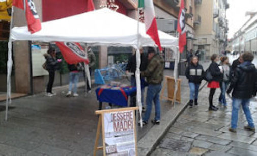 """PAVIA 30/11/2014: CasaPound Italia: """"Le nostre iniziative più forti dei divieti"""""""