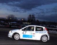 SALICE  TERME 19/11/2014: Rally. Salviotti 1° nella classe A3 al formula rally Challenge del Lupo