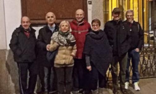 VOGHERA 03/11/2014: Anche i vogheresi al Trekking Urbano di Pavia