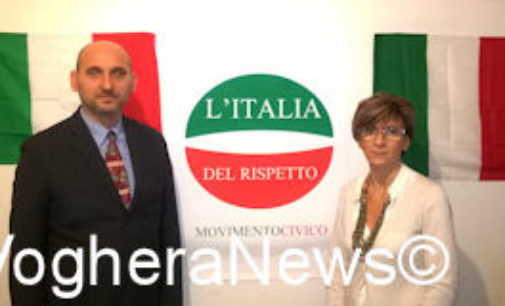VOGHERA 03/12/2014: L'Italia del Rispetto presenta un altro candidato. L'edicolante Cristina Uberti