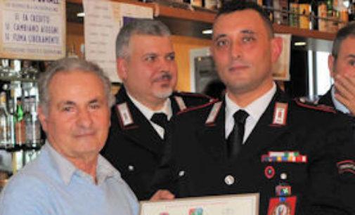 VOGHERA 02/12/2014: Carabinieri in pensione. Celebrata la Virgo Fidelis con la S.Messa e il pranzo sociale