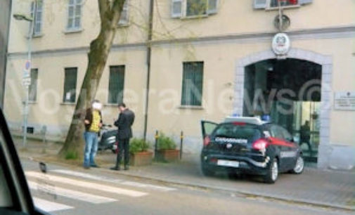 VOGHERA 01/12/2014: Rissa notturna in via Emilia. Tifoso iriense arrestato a Savona