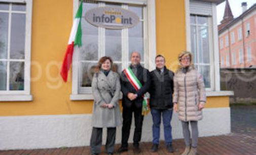 VOGHERA 09/12/2014: Inaugurato l'InfoPoint alla ex pesa pubblica. E' un progetto fatto in collaborazione fra Comune e Provincia