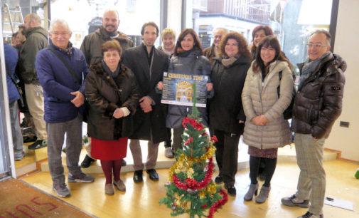 """VOGHERA 10/12/2014: Arriva Christmas Time. Eventi natalizi organizzati dall'assessorato alla Cultura all'interno di un ex negozio di va Emila. Azzaretti. """"Vogliamo vivacizzare la città e al tempo stesso essere di stimolo al commercio"""""""