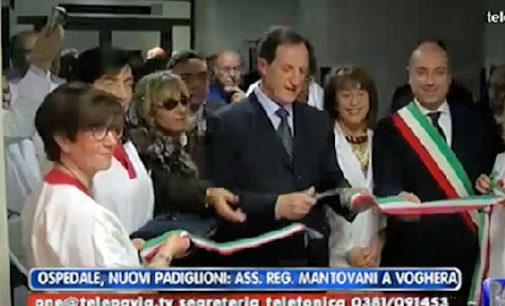 """VOGHERA 04/12/2014: Inaugurata la palazzina dell'Ospedale. Mantovani: """"Oltre 11 milioni e mezzo di euro impiegati in città"""
