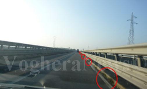 BRESSANA 04/12/2014: Finiti i lavori urgenti al ponte sul Po. La Provincia ricorda che c'è sempre il limite dei 30Km/h