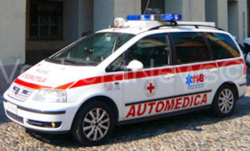 ROBBIO LOMELLINA 27/01/2015: 22enne cade nel rullo compressore. Grave infortunio alla Toscana Gomme