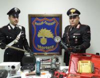 """VIGEVANO 20/01/2015:Scoperta una centrale di ricettazione ed arrestato dai Carabinieri """"Bruce Lee"""""""
