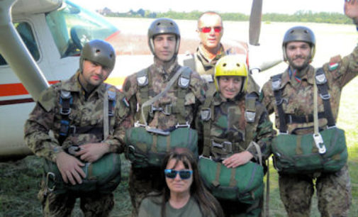 VOGHERA 16/01/2015: C'è il corso di Paracadutismo