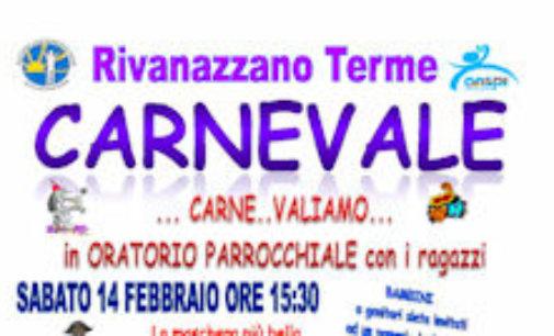 RIVANAZZANO 10/02/2015: Arriva il Carnevale. Tre gli appuntamenti organizzati dall'Oratorio