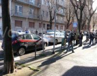 VOGHERA 25/02/2015: Incidente in via Matteotti. Coinvolto un ciclista di 79 anni