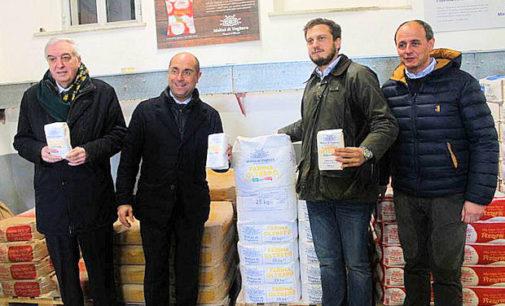 VOGHERA 23/02/2015: I Molini di Voghera all'Expo con la farina tutta oltrepadana. Oggi anche la visita del sindaco