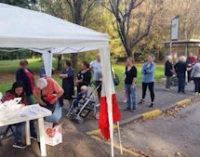 TROVO 04/02/2015: Vive in roulotte. Solidarietà Nazionale Pavia aiuta la famiglia Conti e lancia un appello