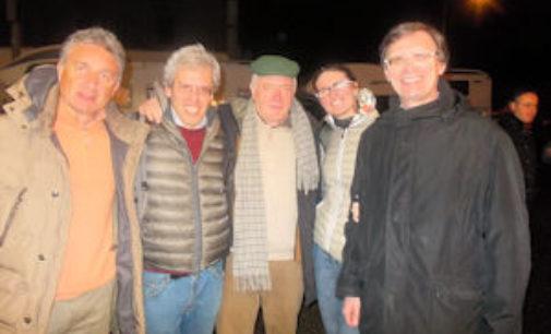 VOGHERA 23/02/2015: Soci Coop al concerto dei Nomadi e alla ciaspolata in Valle D'Aosta