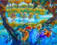 VOGHERA 09/04/2015: A Spazio53 la mostra di pittura di Luciana Manelli. Fino al 24 Aprile