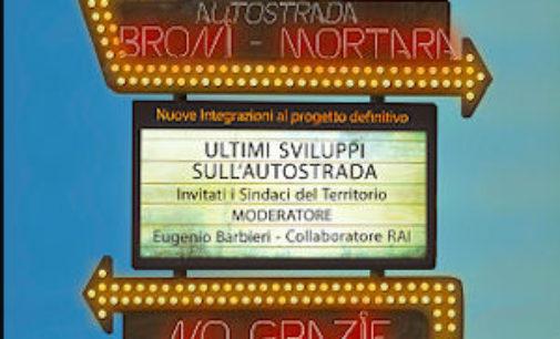 PAVIA 13/03/2015: Autostrada Broni-Mortara-Stroppiana. Venerdì 20 un incontro pubblico