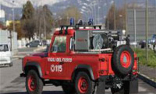 VOGHERA 16/03/2015: Domenica di lavoro per i pompieri. Interventi a Godiasco Verretto e Ponte Nizza